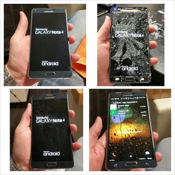 Ép kính Samsung Note 4