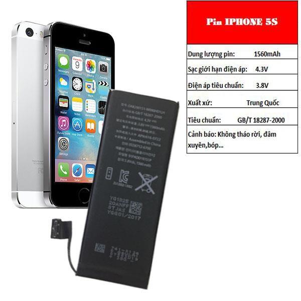 Thay pin iPhone 5 chính hãng để không ảnh hưởng đến các bộ phận khác