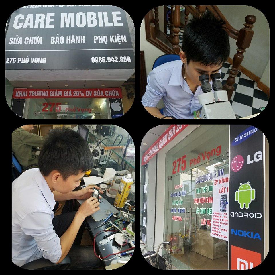 Địa chỉ chuyên thay mặt kính, màn hình Samsung CareMobile