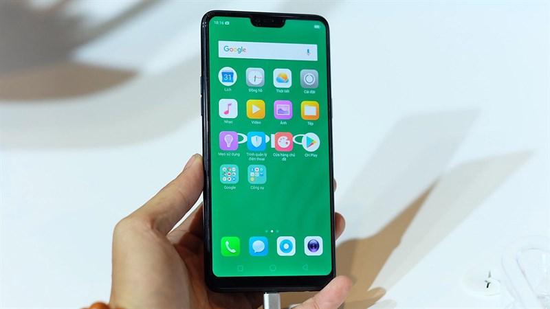 Điện thoại Oppo tai thỏ