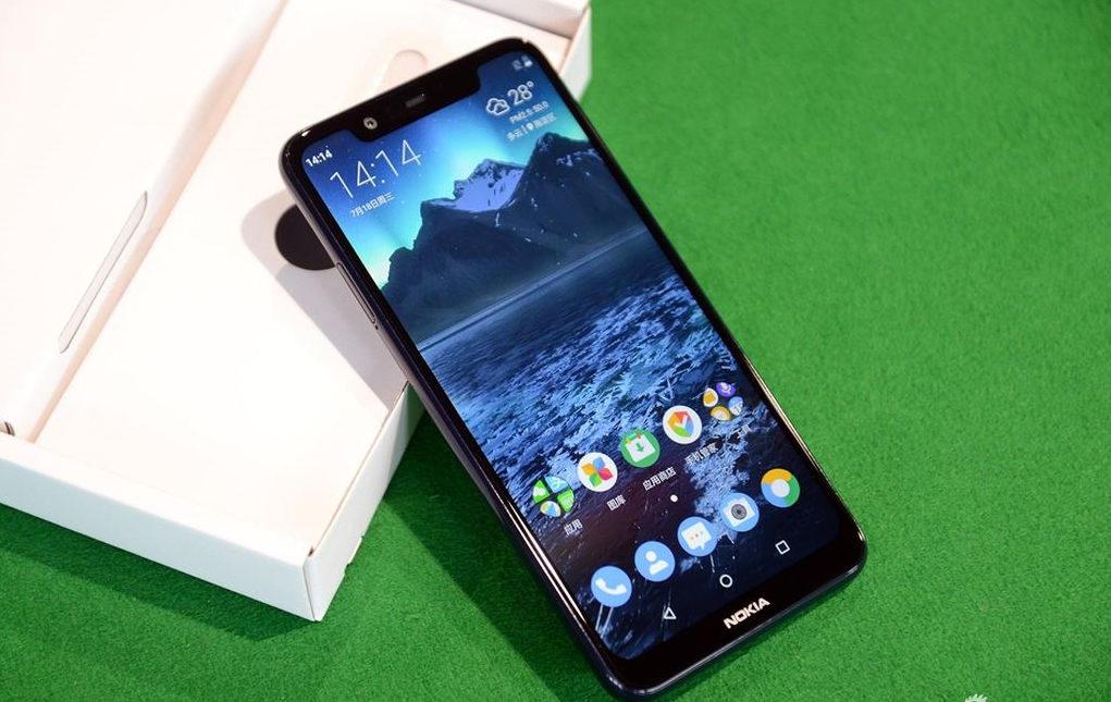 Nokia 5.1 Plus bị lỗi màn hình cũng khá dễ nhận biết vì nó biểu hiện trên màn hình thực tế.