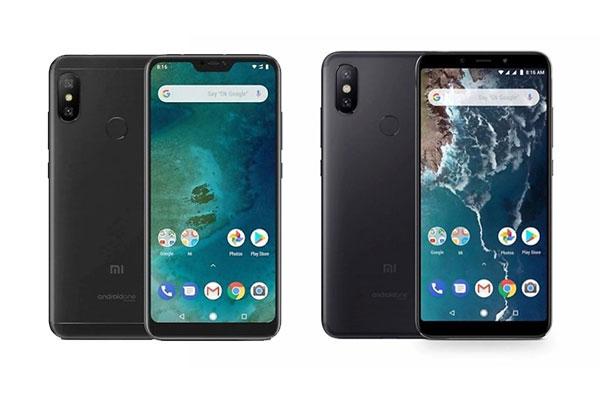 Điện thoại Xiaomi Mi A2 Lite và Xiaomi Mi A2