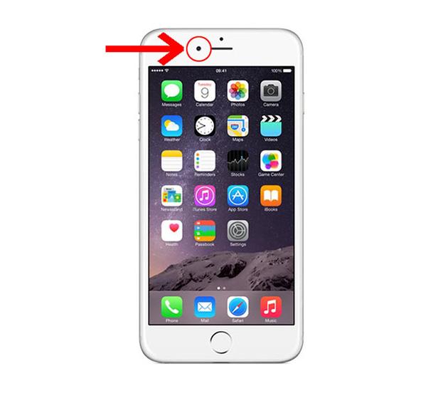 Quá trình thay camera trước iPhone 6, 6 Plus trong tầm 45 phút