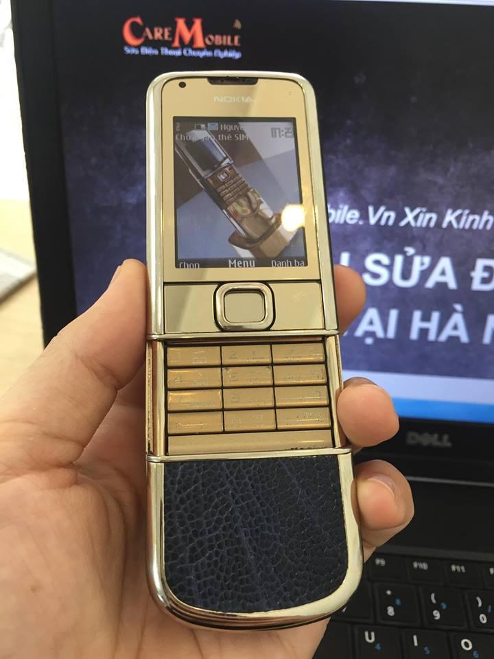 Dấu hiệu nhận biết lỗi loa trong hay loa ngoài Nokia 8800
