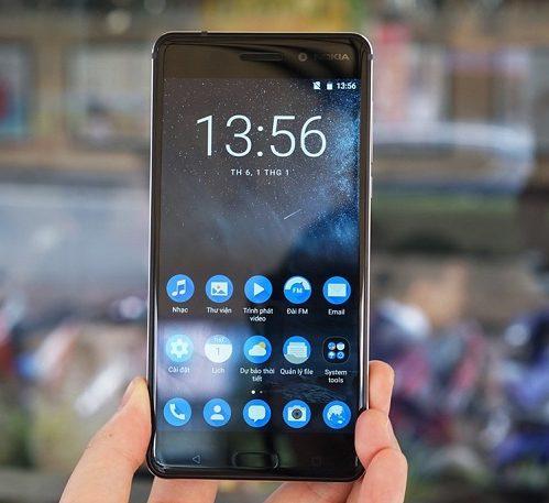 Sau khi thay mới màn hình Nokia 6 thì máy trở nên đẹp mới như ban đầu