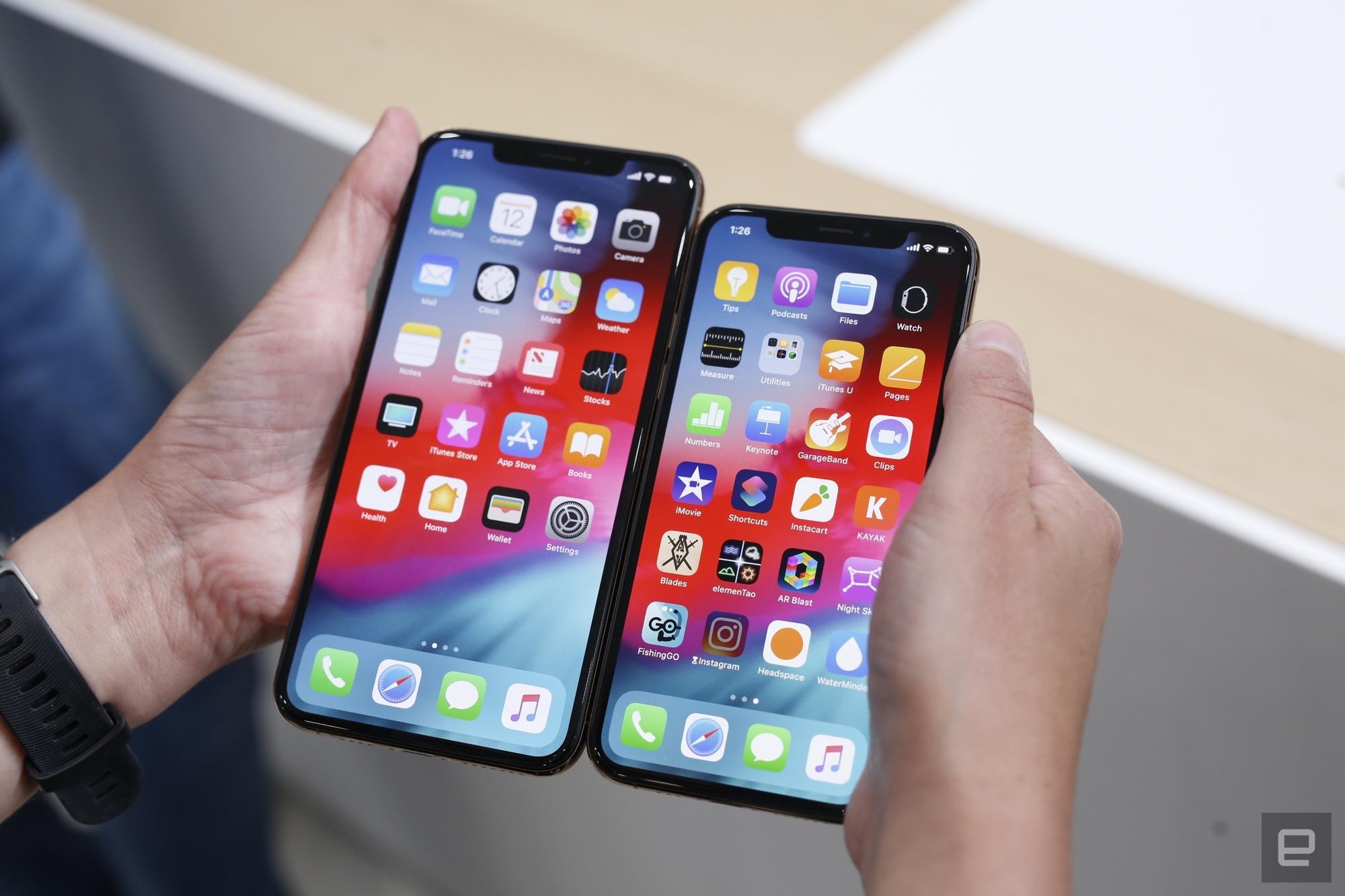 iPhone XS Max với màn hình khủng lên đến 6,5 inch