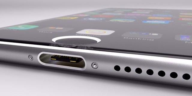 Chân sạc iPhone XR: vẫn cổng USB Type-C.