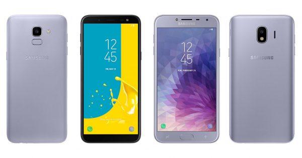 Samsung J6 Prime & J4 Prime: Hai mẫu máy chạy phiên bản Android mới hơn so với tiền nhiệm.