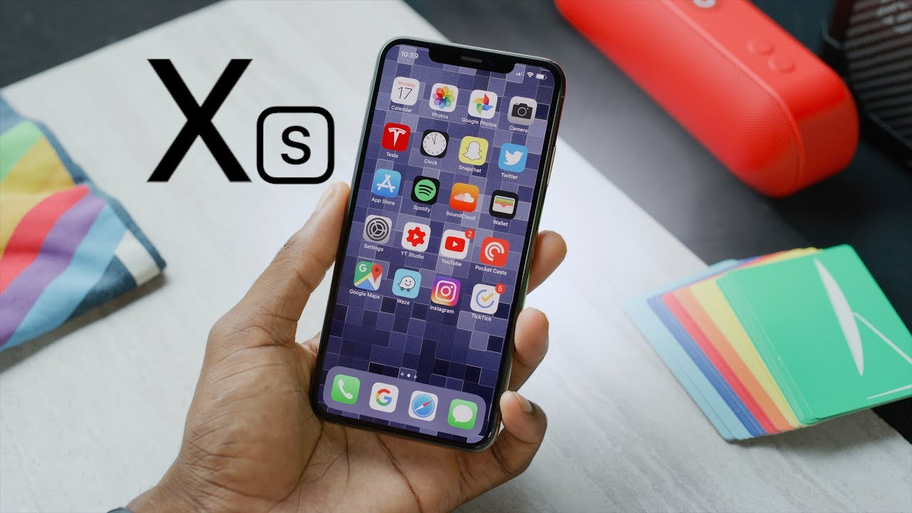 Dấu hiệu lỗi loa iPhone XS khá dễ nhận biết