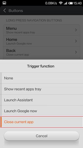 Tắt hết các ứng dụng chạy ngầm trên điện thoại Xiaomi.