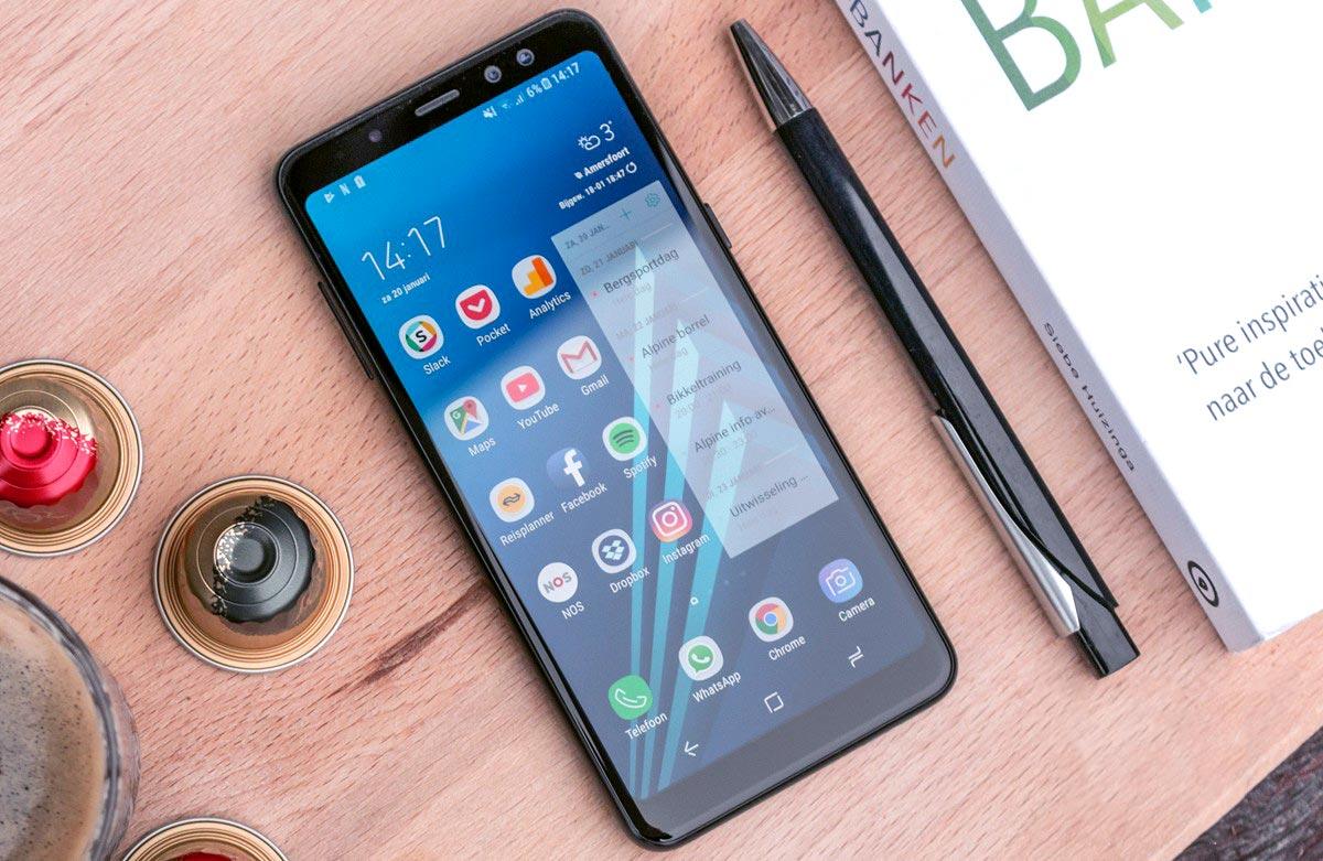Nắm rõ cấu tạo và tùy từng trường hợp chỉ cần thay mặt kính Samsung A8s