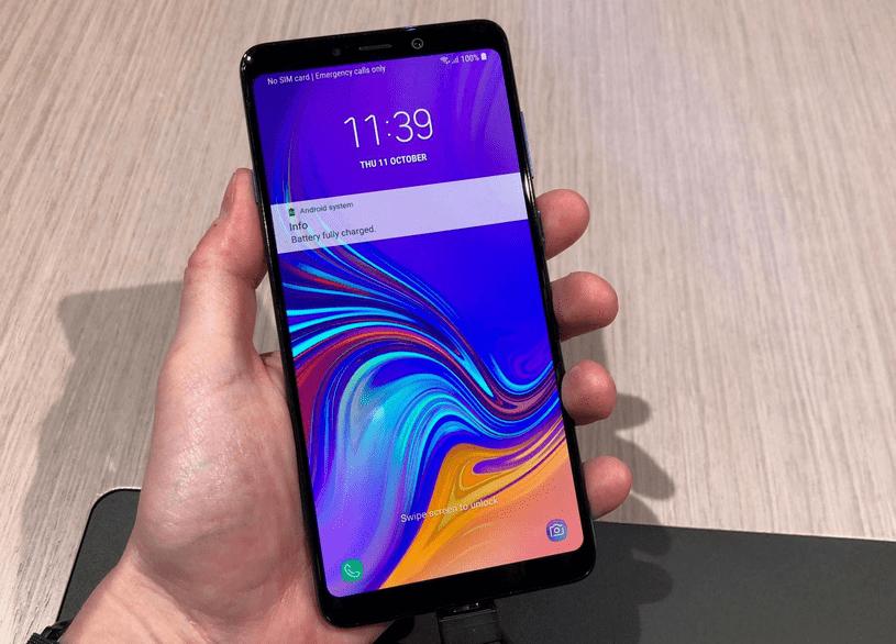 Thay IC wifi Samsung A9 2018 tại Hà Nội