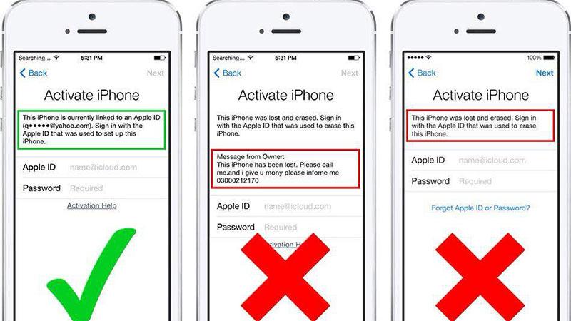 Cách mở iPhone dính iCloud hiệu quả